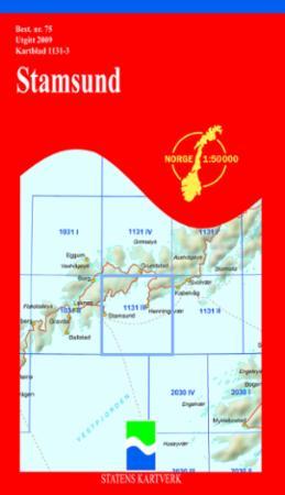 kart stamsund Stamsund (Kart, falset)   Turkart | NorskeSerier kart stamsund