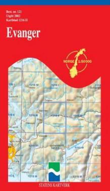 evanger kart Evanger (Kart, falset)   Turkart   NorskeSerier evanger kart