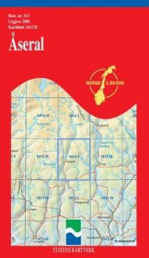 kart åseral Åseral (Kart, falset)   Turkart | NorskeSerier kart åseral