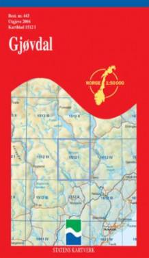 gjøvdal kart Gjøvdal (Kart, falset)   Turkart | NorskeSerier gjøvdal kart