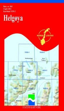 kart helgøya Helgøya (Kart, falset)   Turkart | NorskeSerier kart helgøya