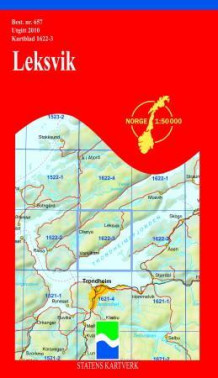 leksvik kart Leksvik (Kart, falset)   Turkart | NorskeSerier