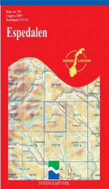 kart espedalen Espedalen (Kart, falset)   Turkart | NorskeSerier kart espedalen