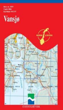 vansjø kart Vansjø (Kart, falset)   Turkart | NorskeSerier vansjø kart
