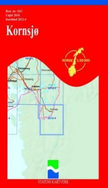 kornsjø kart Kornsjø (Kart, falset)   Turkart | NorskeSerier kornsjø kart