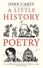 A little history of poetry av John Carey (Innbundet)