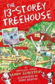 The 13-storey treehouse av Andy Griffiths (Heftet)