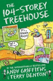 The 104-storey treehouse av Andy Griffiths (Heftet)