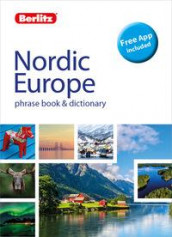 Nordic Europe phrase book & dictionary av Berlitz (Heftet)