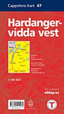 hardangervidda vest kart Hardangervidda vest (Kart, falset)   Norge | NorskeSerier hardangervidda vest kart