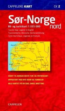 bomveier i norge kart Sør Norge nord (Kart, falset)   Norge | NorskeSerier bomveier i norge kart
