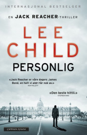 Personlig av Lee Child (Innbundet)