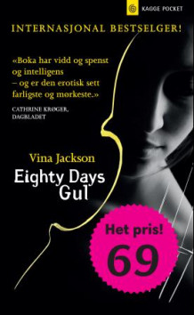 Eighty days gul av Vina Jackson (Heftet)