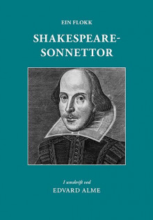 Ein flokk Shakespearesonnettor av William Shakespeare (Heftet)