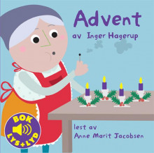 Advent av Inger Hagerup (Pappbok)