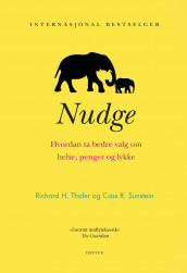 Nudge av Cass R. Sunstein og Richard H. Thaler (Innbundet)