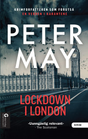 Lockdown i London av Peter May (Innbundet)